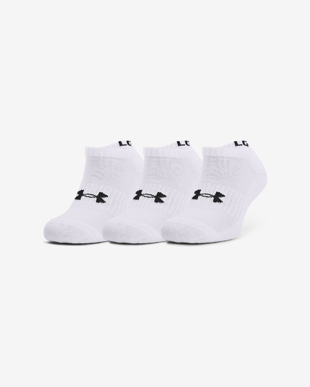 Under Armour Core No Show Nogavice 3 para